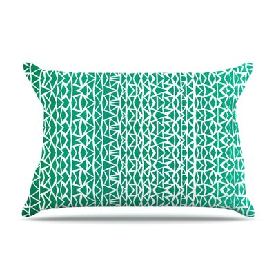 Tribal Forrest by Pom Graphic Design Pillow Sham Size: King, Fabric: Cotton