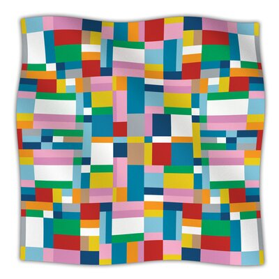 Map Throw Blanket Size: 60 L x 50 W