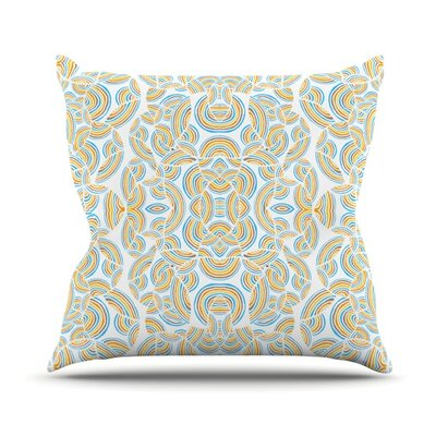 Infinite Thoughts Throw Pillow Size: 16 H x 16 W