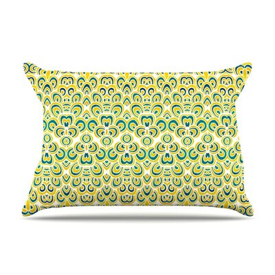 Animal Temple by Pom Graphic Design Featherweight Pillow Sham Size: Queen, Fabric: Woven Polyester