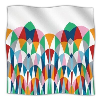Modern Day Arches Throw Blanket Size: 60 L x 50 W