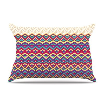 Horizons III by Pom Graphic Design Featherweight Pillow Sham Size: King, Fabric: Woven Polyester