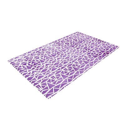 Tribal Mosaic Purple Area Rug Rug Size: 2 x 3
