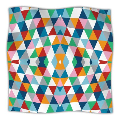 Geometric Throw Blanket Size: 40 L x 30 W