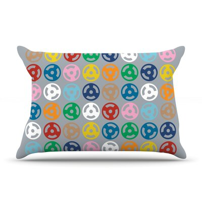 Roll with It On Grey Pillow Case Size: Standard