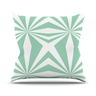 Starburst Throw Pillow Size: 16 H x 16 W
