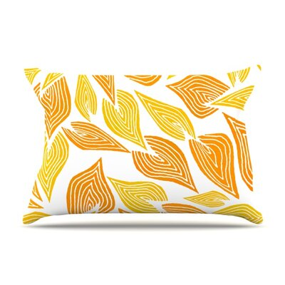 Autumn by Pom Graphic Design Featherweight Pillow Sham Size: King, Fabric: Woven Polyester