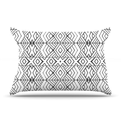 Pom Graphic Design Tribal Expression Pillow Case