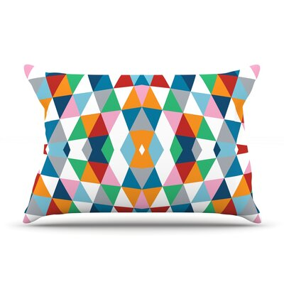 Geometric Pillow Case Size: King