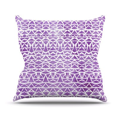Throw Pillow Color: Tribal Mosaic, Size: 18 H x 18 W