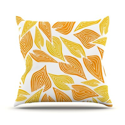 Throw Pillow Size: 20 H x 20 W, Color: Autumn