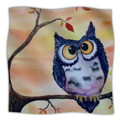 Hootie Cutie Throw Blanket Size: 40 L x 30 W