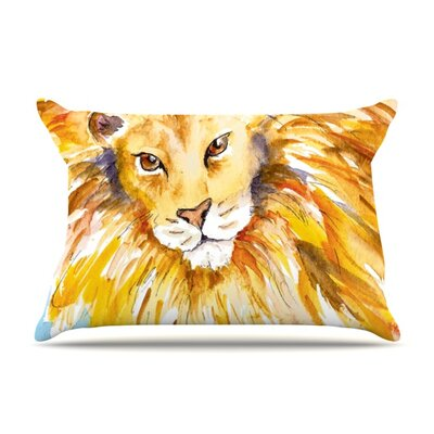 Wild One by Padgett Mason Featherweight Pillow Sham Size: King, Fabric: Woven Polyester
