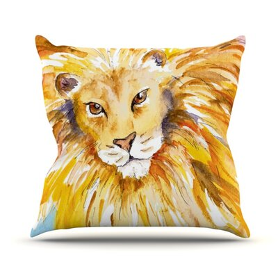 Wild One Throw Pillow Size: 16 H x 16 W