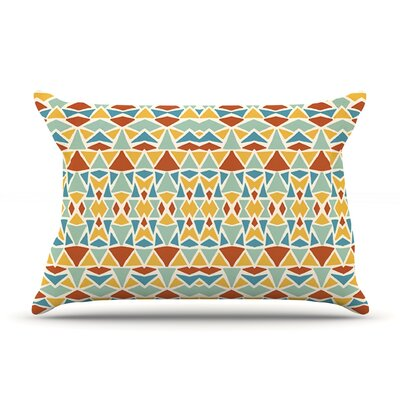 Tribal Imagination Pillow Case Size: Standard