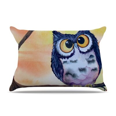 Hootie Cutie Pillow Case Size: King