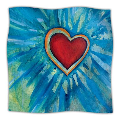 Love Shines On Throw Blanket Size: 80 L x 60 W