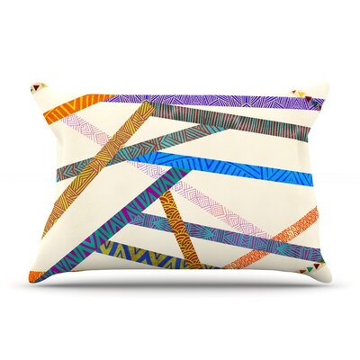 Unparalleled by Pom Graphic Design Featherweight Pillow Sham Size: King, Fabric: Woven Polyester