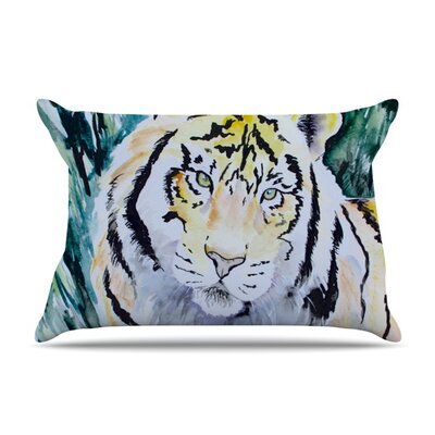 Tiger Pillow Case Size: King