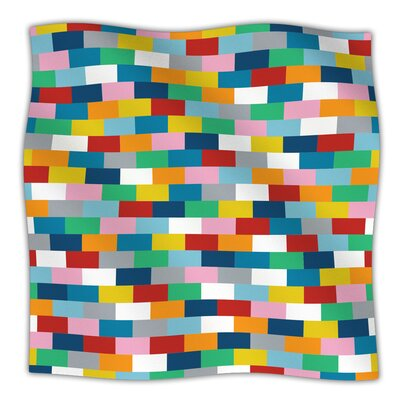 Bricks Throw Blanket Size: 80 L x 60 W