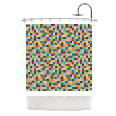 Colour Blocks Shower Curtain