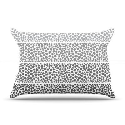 Riverside Pebbles by Pom Graphic Design Featherweight Pillow Sham Size: Queen, Fabric: Woven Polyester