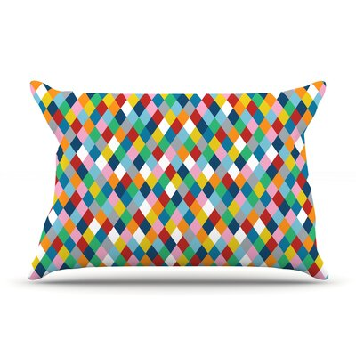 Harlequin Pillow Case Size: Standard