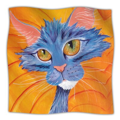 Tell Me More Throw Blanket Size: 60 L x 50 W