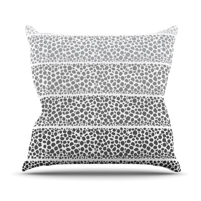 Riverside Pebbles by Pom Graphic Throw Pillow Size: 18 H x 18 W x 3 D