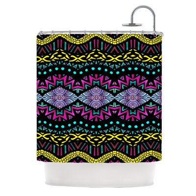 Tribal Dominance Shower Curtain