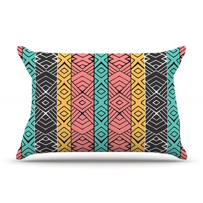 Artisian by Pom Graphic Design Featherweight Pillow Sham Size: King, Fabric: Woven Polyester