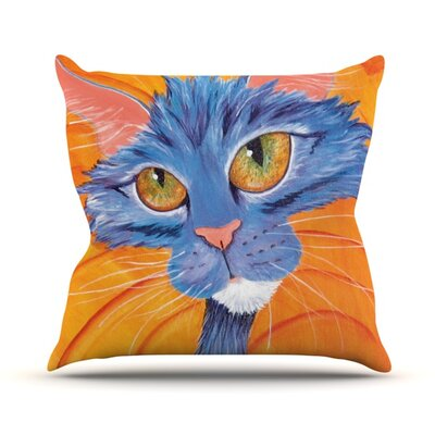 Tell Me More Throw Pillow Size: 18 H x 18 W
