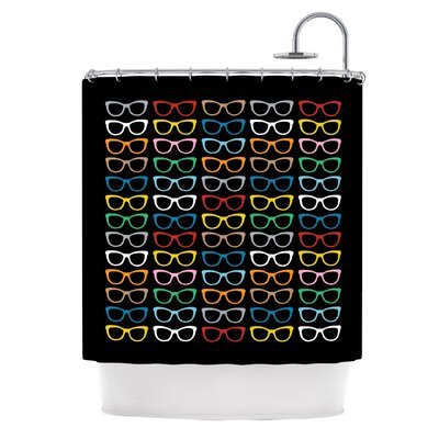 Kess InHouse Polyester Shower Curtain - Color: Sunglasses At Night at Sears.com