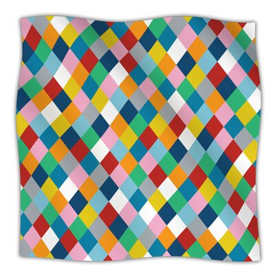 Harlequin Zoom Throw Blanket Size: 40 L x 30 W