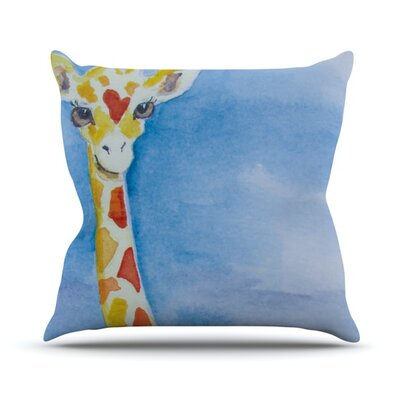 Topsy Throw Pillow Size: 26 H x 26 W