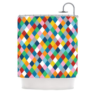 Harlequin Zoom Shower Curtain