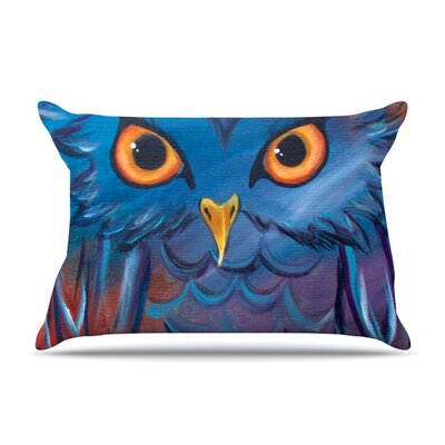 Hoot by Padgett Mason Featherweight Pillow Sham Size: King, Fabric: Woven Polyester