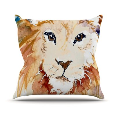Leo Throw Pillow Size: 18