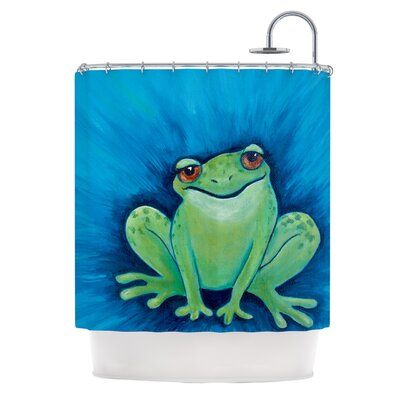 Ribbit Ribbit Shower Curtain
