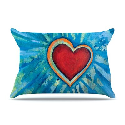 Love Shines On Pillow Case Size: Standard