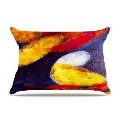 Into The Light by Rosie Brown Featherweight Pillow Sham Size: Queen, Fabric: Woven Polyester