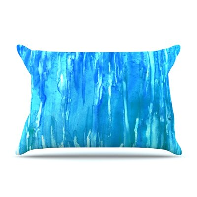 Wet & Wild by Rosie Brown Featherweight Pillow Sham Size: King, Fabric: Woven Polyester