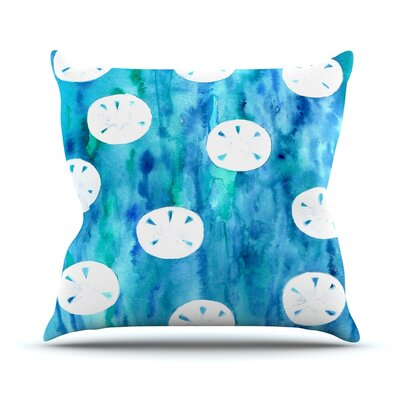 Sandollars Throw Pillow Size: 18 H x 18 W