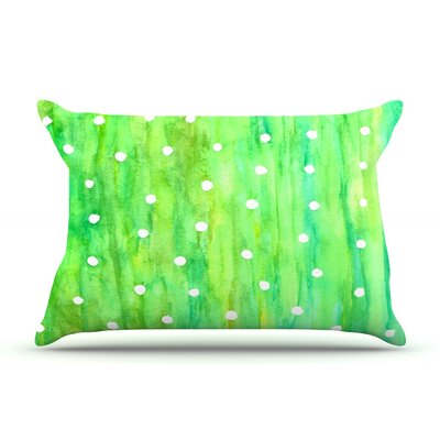 Sprinkles by Rosie Brown Featherweight Pillow Sham Size: Queen, Fabric: Woven Polyester