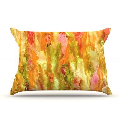 Walk in the Forest by Rosie Brown Featherweight Pillow Sham Size: King, Fabric: Woven Polyester