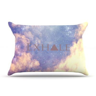 Exhale by Rachel Burbee Featherweight Pillow Sham Size: King, Fabric: Woven Polyester
