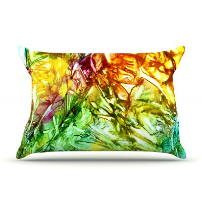 Kaleidoscope by Rosie Brown Featherweight Pillow Sham Size: Queen, Fabric: Woven Polyester
