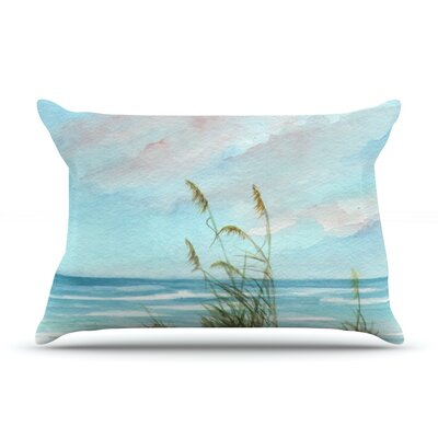 Sea Oats Pillow Case Size: Standard