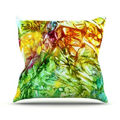 Kaleidoscope Throw Pillow Size: 18 H x 18 W