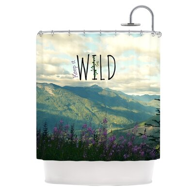 Keep It Wild Shower Curtain